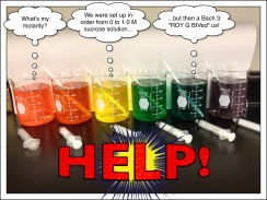Mystery sucrose solutions for AP Biology Inquiry Lab #4: Osmosis and Diffusion, September 2015